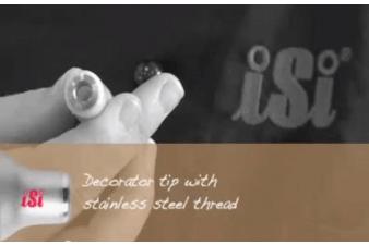 Cách sử dụng bình xịt kem tươi Whip It 6