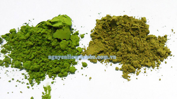 phân biệt matcha trà xanh thật và matcha trà xanh giả