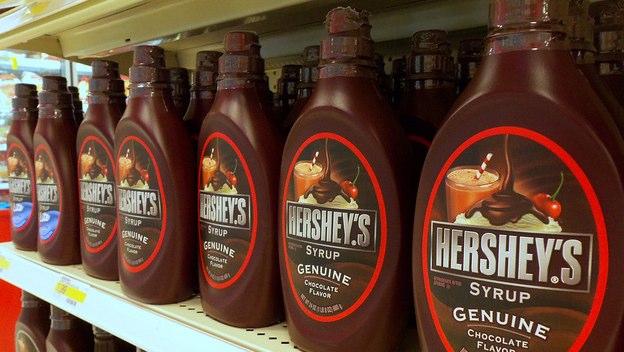 syrup hershey chocolate