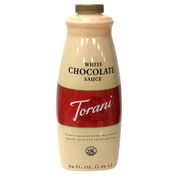 White chocolate sauce torani 1