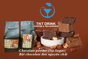 bột chocolate đen nguyên chất