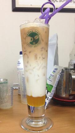 ice milk tea bạc hà 2