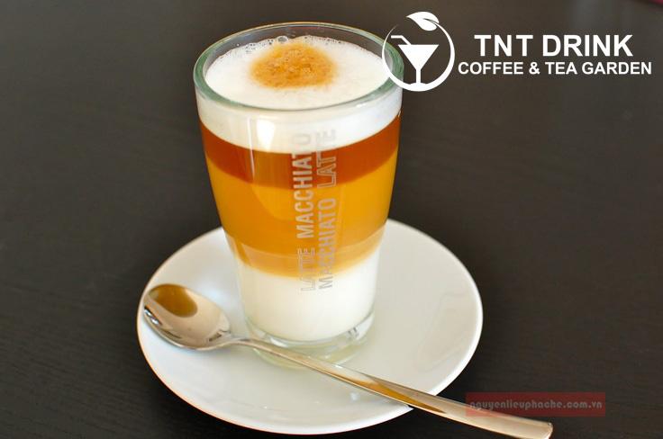 công thức pha chế caramel latte