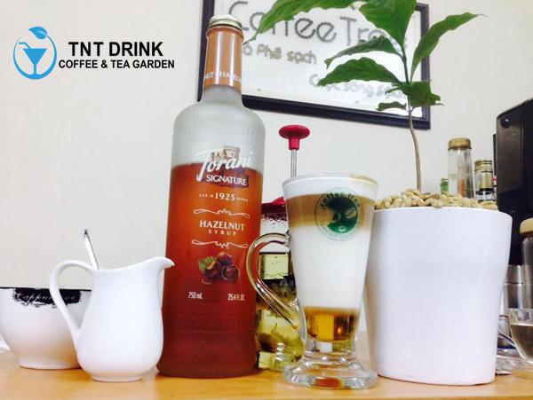 công thức pha chế latte 4 tầng cực đẹp