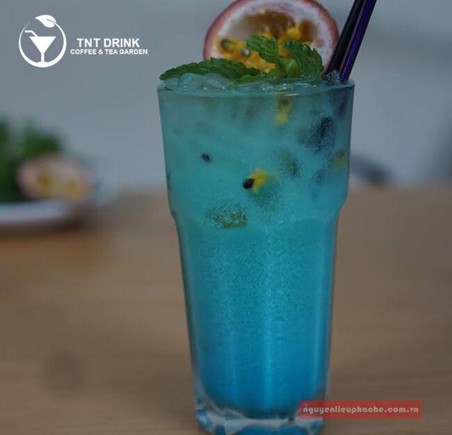 Cách làm Deep Blue Sea - Moctail biển xanh sâu thẩm 2