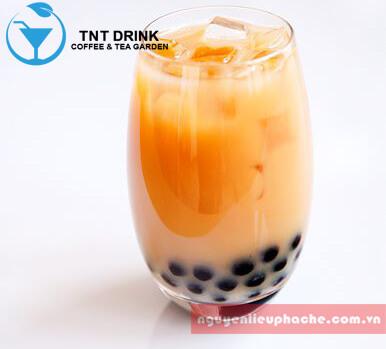 cách làm trà sữa tại nhà uống là nghiền 3