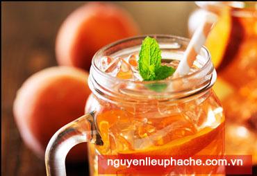 Công thức trà đào mới siêu tiết kiệm