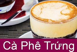 Cà phê trứng ấp áp Hà Nội