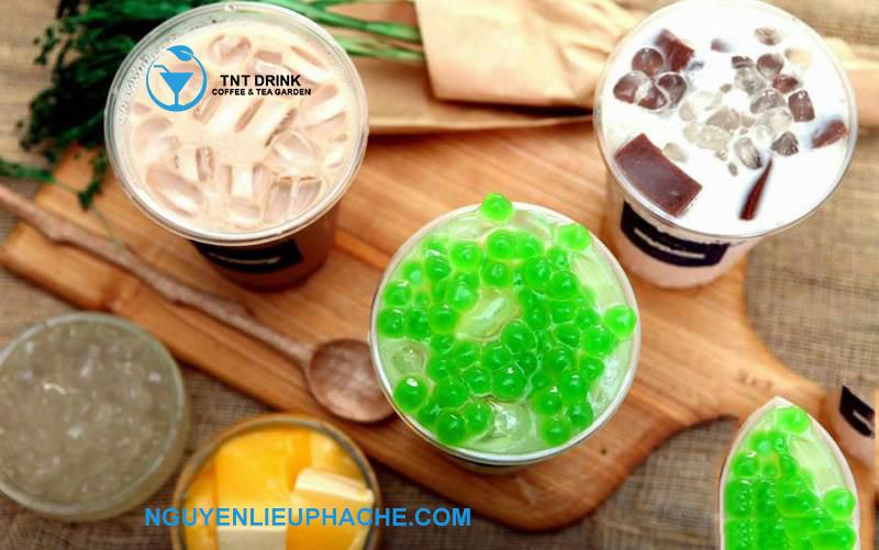 trà sữa trân châu ngọc trai làm nóng mạng xã hội