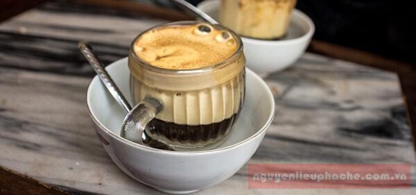 hướng dẫn làm cafe trứng thơm ngon