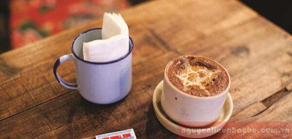 hướng dẫn làm cafe trứng thơm ngon 3