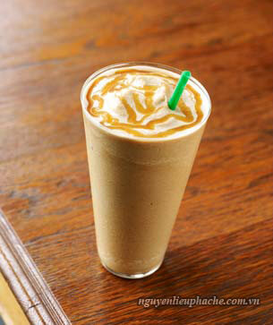 flavored coffee ice blended