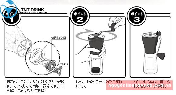 Cối xay cafe Hario 5