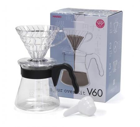 Bộ pha cà phê V60 2 ly 1
