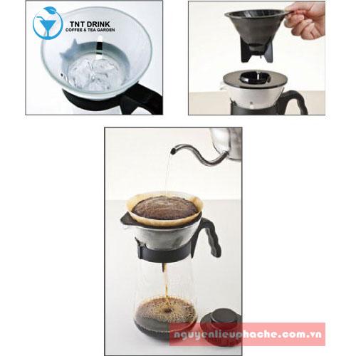 Bình pha cafe drip v60 1