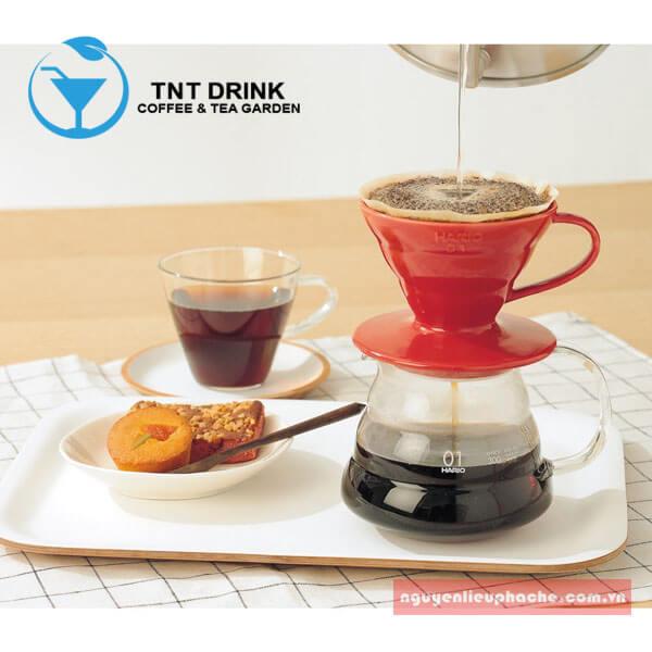 v60 drip coffee