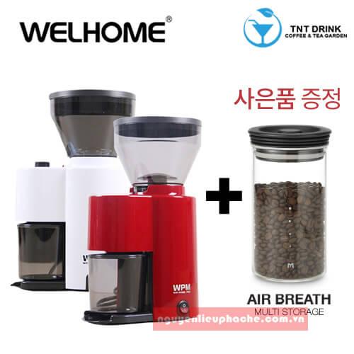 Máy xay cà phê mini Welhome 2