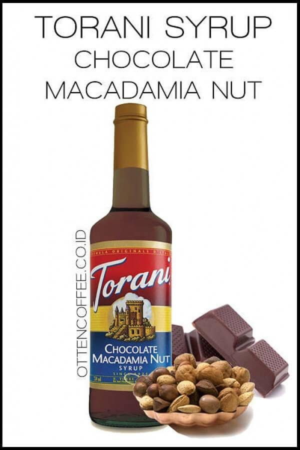 syrup macadamia