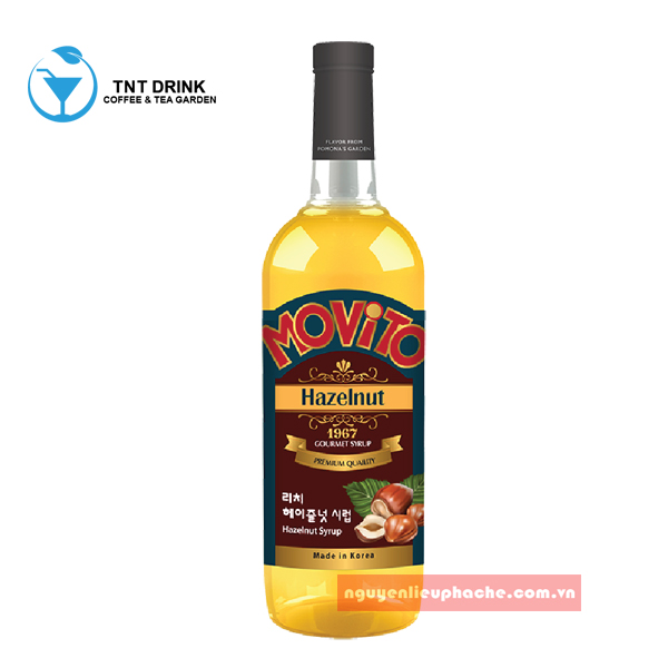 Syrup Movito Hazelnut (1L)