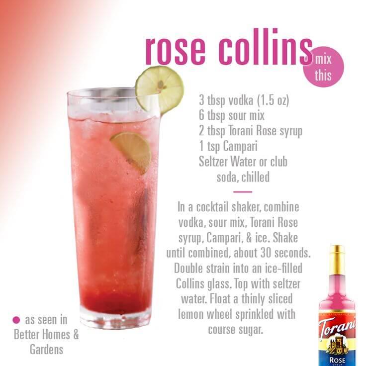 Syrup hoa hồng 1