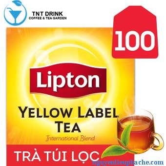 Trà túi lọc Lipton hộp 100 góix2g 1