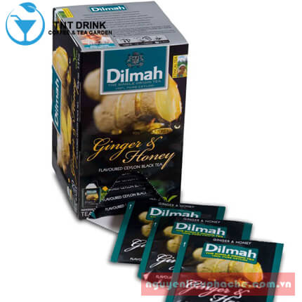 Dilmah gừng mật ong 1