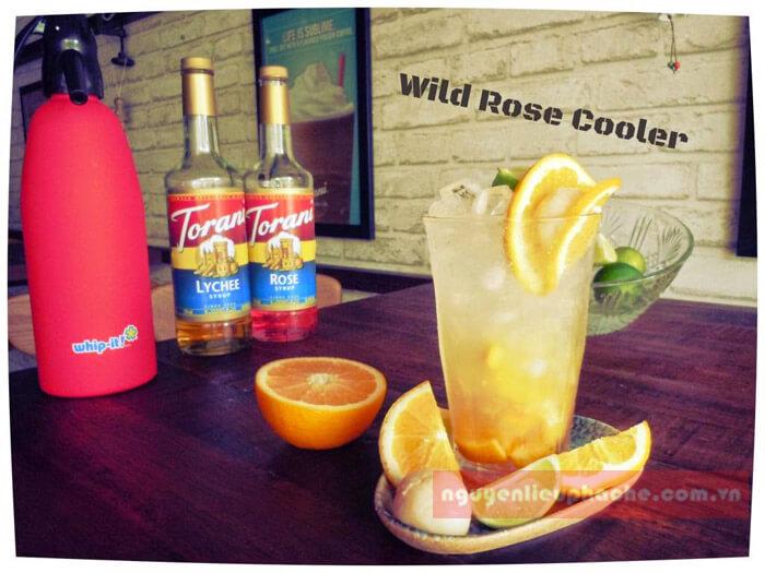 MOCKTAIL Wild Rose Cooler