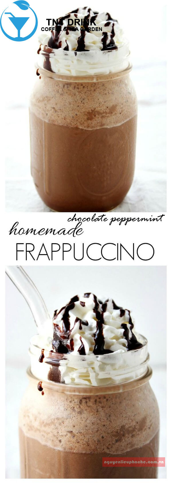 chocolate peppermint frappuchino 3