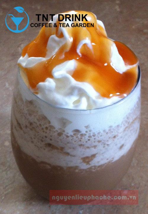 Cà phê đá xay vị caramel thạch Jelly 1