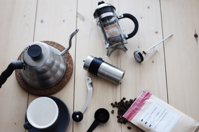 cách pha cafe kiểu pháp french press