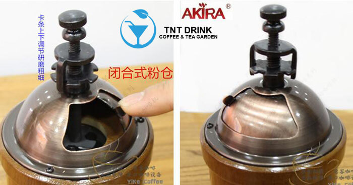 cối xay cafe akira