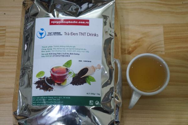 trà đen tnt drink